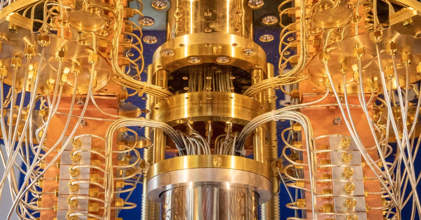 This is an image of a quantum computer